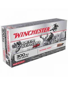 Winchester Deer Season XP 300AAC Blackout 150GR Extreme Point 1900FPS - 20 Pack