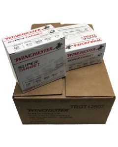 Winchester 12G 28GR 7.5 Shot 1290FPS Super Target Competition Cartridges - 250 Pack