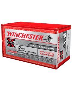 Winchester Super-X 17HMR 20GR XTP JHP - 50 Pack