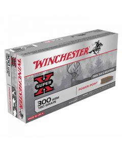 Winchester Super-X 300 WSM 180GR Pointed Soft Power Point 2970FPS - 20 Pack