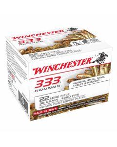 Winchester .22LR 36GR CPHP 1280FPS - 333 Value Pack