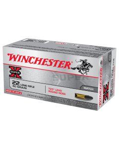 Winchester Super-X T22 22LR 40GR Standard Velocity LRN Solid 1150FPS - 500 Pack