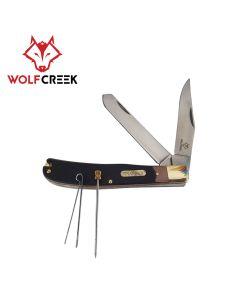 Wolf Creek Trapper 2 Blade Folding Pocket Knife