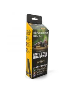 Work Sharp Electric Knife & Tool Sharpener Replacement Belt Kit