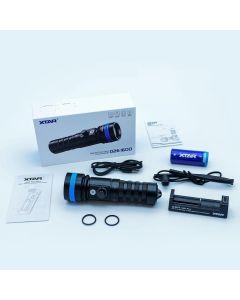 XTAR D26 - 1600 Lumen LED Diving Torch